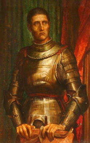 George Frederick Watts - The Condottiere, 1883