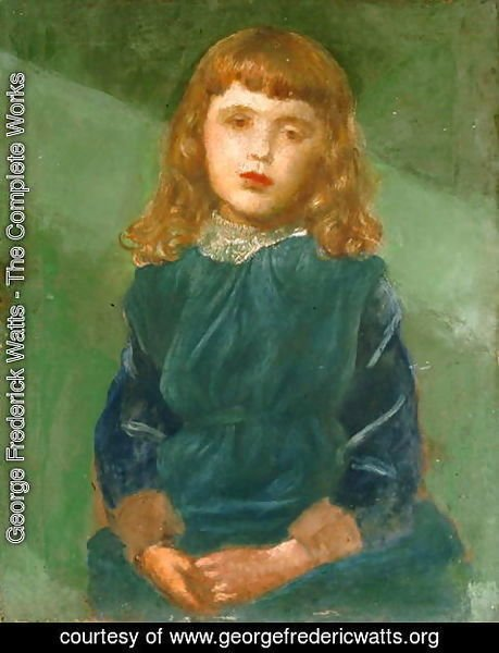 George Frederick Watts - Lucy Bond, 1880