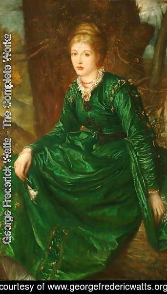 George Frederick Watts - Miss Virginia Dalrymple, 1872