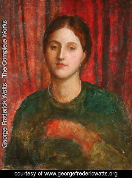 George Frederick Watts - Portrait of a Lady 2