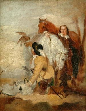 The Falconer, c.1836