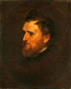 George Frederick Watts - James Barr Mitchell, c.1856