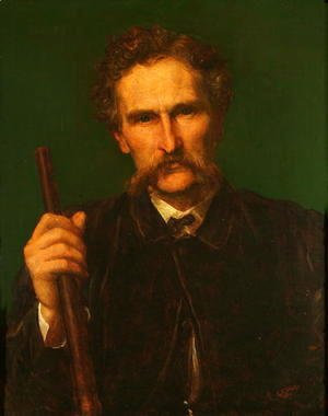 George Frederick Watts - Rith H. Wallis-Dunlop, 1872
