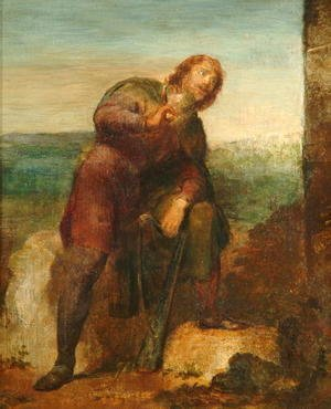 George Frederick Watts - Blondel, 1841