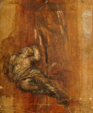George Frederick Watts - The Messenger 2