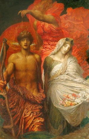 George Frederick Watts - Time, Death and Judgement, 1884
