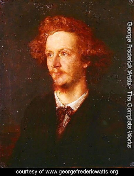 George Frederick Watts - Portrait of Algernon Charles Swinburne (1837-1909) 1867