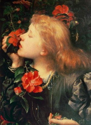 George Frederick Watts - Portrait of Dame Ellen Terry (1847-1928) c.1864