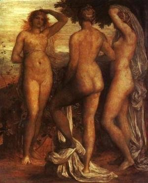 George Frederick Watts - The Judgement of Paris 2