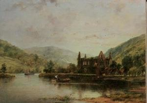 George Frederick Watts - Tintern Abbey