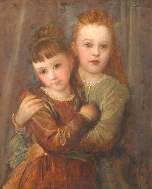 George Frederick Watts - The Misses Gurney