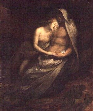 George Frederick Watts - Paolo and Francesca, 1870