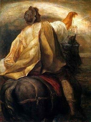 George Frederick Watts - The Rider on the Black Horse