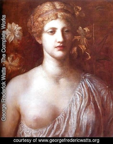 George Frederick Watts - The Wife of Pygmalion