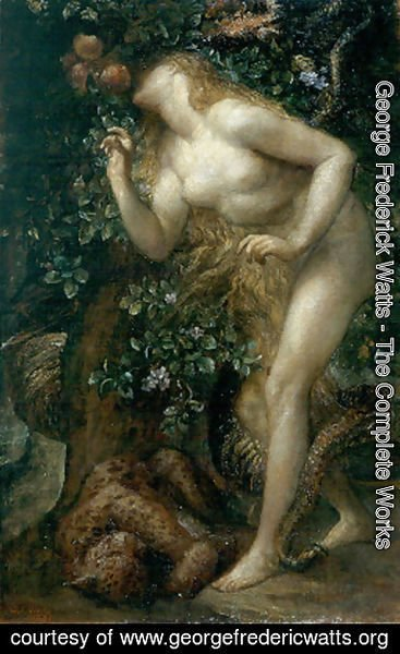 George Frederick Watts - Eve Tempted II