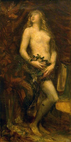 George Frederick Watts - Eve Tempted