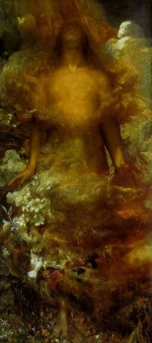 George Frederick Watts - Eve