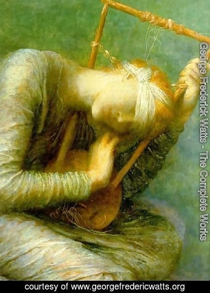 George Frederick Watts - Hope, detail