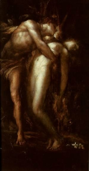 George Frederick Watts - Orpheus and Eurydice 2