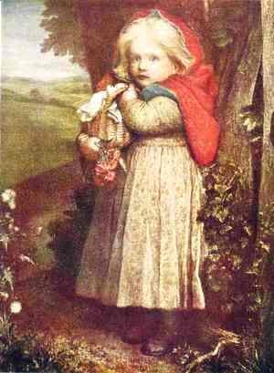 George Frederick Watts - Red Riding Hood