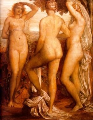 George Frederick Watts - The Three Graces