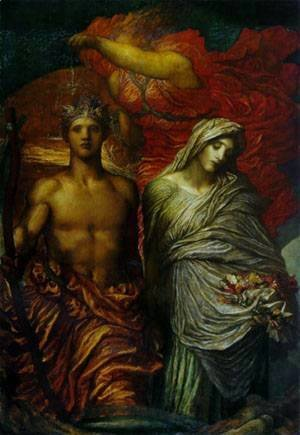 George Frederick Watts - Painting Name Unknown