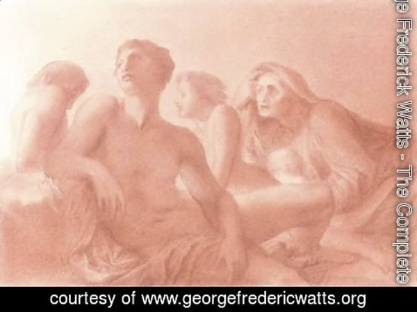 George Frederick Watts - The people that walked in darkness 2