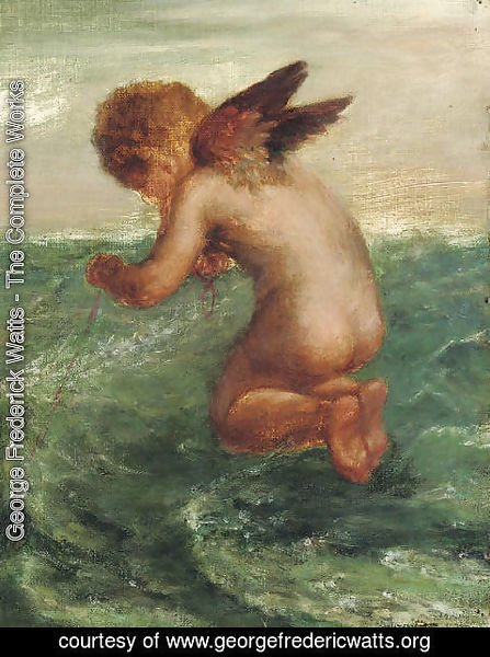 George Frederick Watts - Good Luck to your Fishing