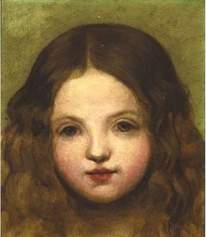 George Frederick Watts - Portrait Of A Girl
