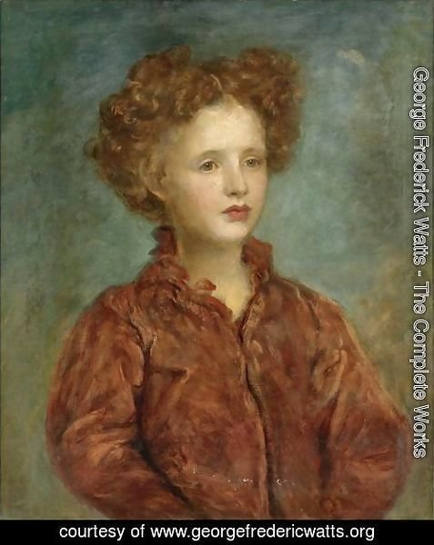 Portrait Of A Young Titled Girl