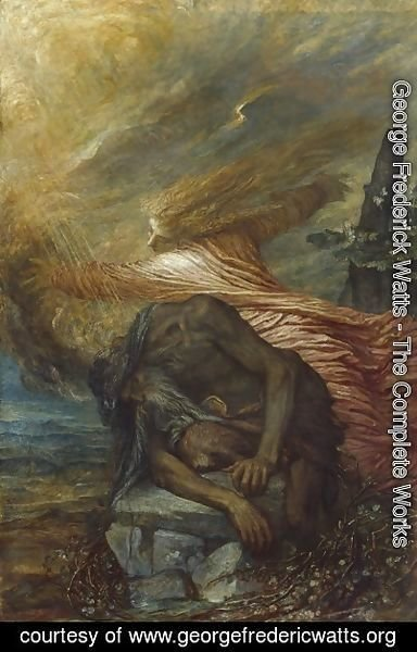 George Frederick Watts - The death of Cain