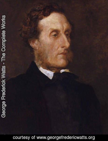 George Frederick Watts - Anthony Ashley Cooper, 7th Earl of Shaftesbury