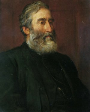 George Frederick Watts - Portrait of the reverend Harry Jones