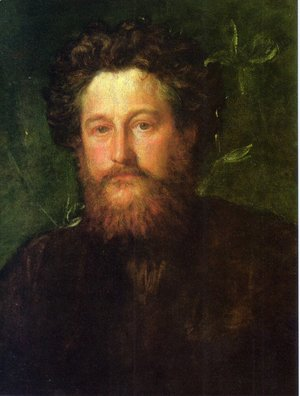 George Frederick Watts - Portrait of William Morris