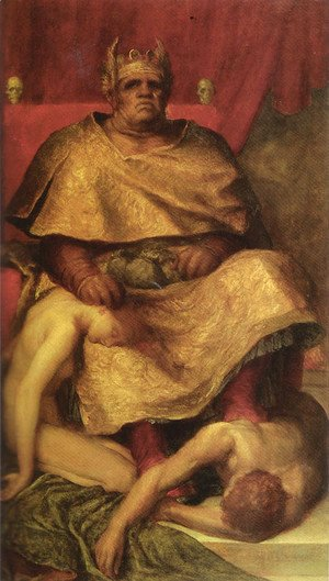 George Frederick Watts - Mammon 1884 5