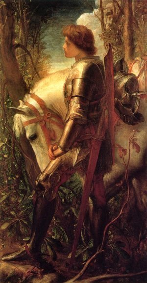 George Frederick Watts - Sir Galahad 1862