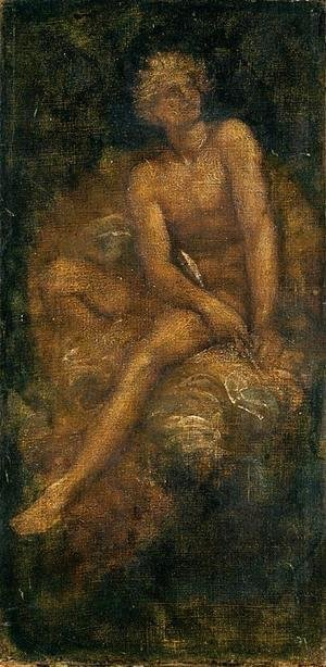 George Frederick Watts - Study For  Hyperion