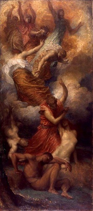 George Frederick Watts - The Creation Of Eve C1865 C1899