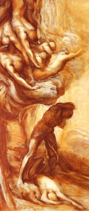 George Frederick Watts - The Denunciation Of Cain