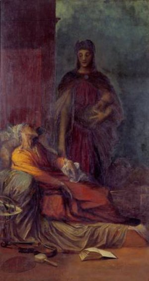 George Frederick Watts - The Messenger C1884 5