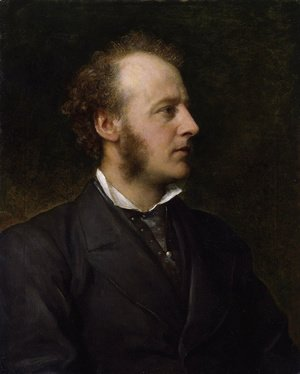 George Frederick Watts - Portrait Of Sir John Everett Millais