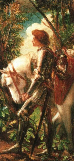 George Frederick Watts - Sir Galahad 2