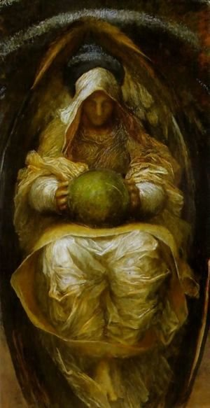 George Frederick Watts - The Recording Angel