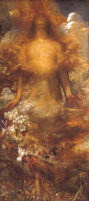 George Frederick Watts - She Shall Be Called Woman