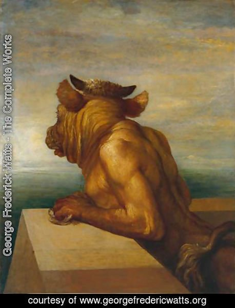 George Frederick Watts - The Minotaur