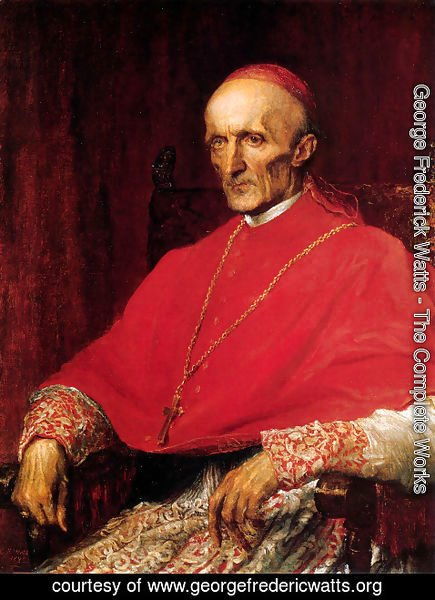 George Frederick Watts - Cardinal Manning