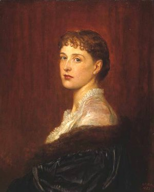 George Frederick Watts - Mrs Arthur Sassoon