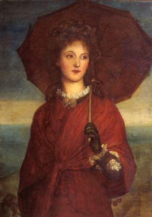 George Frederick Watts - Eveleen Tennant  Later Mrs F W H  Myers