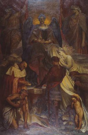 George Frederick Watts - The Court Of Death