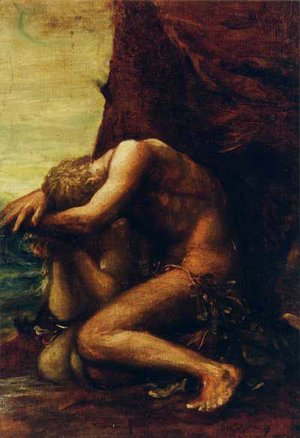 George Frederick Watts - Adam And Eve
